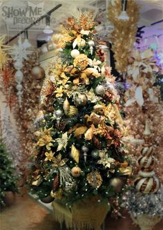 Christmas Trees By Show Me Decorating On Pinterest Show