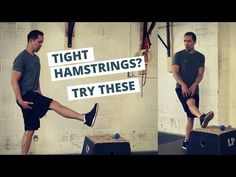 How to Fix Tight Hamstrings (HINT: Static Stretching Doesn't Work) Hamstring Strengthening, Hamstring Muscles, Hamstring Stretches, Tight Shoulders, Tight Hips, Back Pain Exercises, Stretching Exercises, Static Stretching, Sore Legs