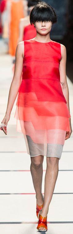 Farb-und Stilberatung mit www.farben-reich.com - FENDI S/S 2014, RTW