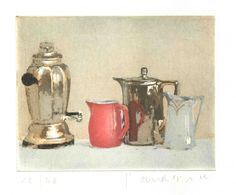 Suses Kannen, Farbrad., 11,5 x 14,8 cm Plattenformat, Aufl. 60,  180, - Friedel Anderson