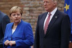 Tổng thống Donald Trump chê người Đức tại Hội nghị G7