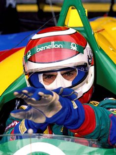 Nelson Piquet ... Benetton-Ford B190, 1990 ( ??? )