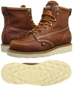 pretty nice 89a7c 84419 Thorogood American Heritage Moc Toe Boot - Made in USA Zapatos Caballero,  Estilos De Hombres