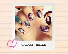 DIY Nail Art Guide: Galaxy Print