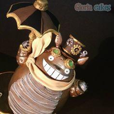 - Steampunk Totoro Cake by Gloria Cakes