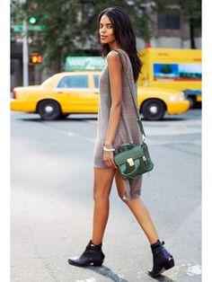 NYFW Model Street Style: Grace Mahary