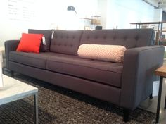 """The """"Reverie"""" sofa from Showroom 400 at High Point Market, Sofa, Couch, Showroom, Love Seat, Fall, Furniture, Home Decor, Houses"""