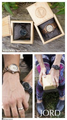 Gifting your loved ones doesn't have to be difficult this year, present them with a natural wood timepiece from JORD, and celebrate the gift of time! Packaged in a natural maple box, it's practically already gift wrapped! Free worldwide shipping through the holidays - www.woodwatches.com