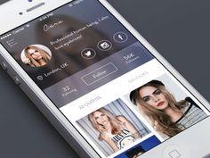 Menu interaction - fashion platform GIF by Ben Dunn