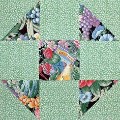 ~ Shoo Fly Quilt Block Pattern