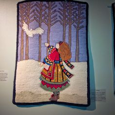 Rug Hooking Rules: Sue Raynor -A Rug Hooking Retrospective (@Bruce County Museum 2014)