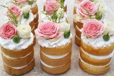 New Wedding Cakes With Cupcakes Mini Desserts 69 Ideas Mini Desserts, Wedding Desserts, Tea Party Desserts, Bridal Shower Desserts, Bridal Shower Cupcakes, Bridal Shower Treats, Famous Desserts, Easter Desserts, Pretty Cakes