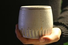 Tilak Tumblers - Ceramic Glass - Pottery - Hand Carved - Gold Lustre by Mudhavi on Etsy