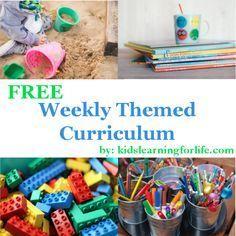 Preschool & Toddler Curriculum Overview