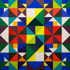 Colour Geometric Artworks