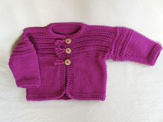 Hand Knit cotton cardigan