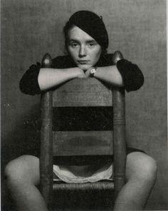 Edward Weston, Portrait of Charis Wilson, Weston's wife & muse