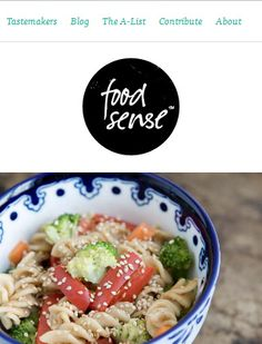 Food Sense, tasty and modern webdesign mobile version! - http://foodsense.is/