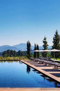 The infinity pool offers stunning Douro Valley views too. Six Senses Douro Valley (Lamego, Portugal) - Jetsetter