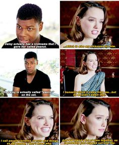 Her friendship with John Boyega is beyond cute.