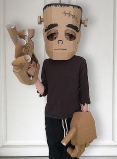 DIY Karton Frankenstein Kostüm - things to do. Diy Halloween, Happy Halloween, Fairy Halloween Costumes, Holidays Halloween, Cool Costumes, Halloween Decorations, Group Halloween, Halloween Cupcakes, Costume Ideas