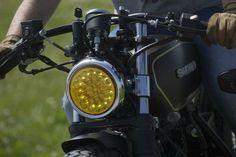 "Suzuki GN250 ""Café Racer"" by Dream Wheels Heritage - Bons Rapazes"