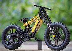 Minecraft Creations, Cool Lego Creations, Legos, Lego Wheels, Lego Tree, Brick Art, Lego Display, Game Wallpaper Iphone, Push Bikes