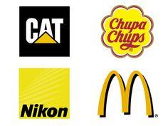Sociétés utilisant le Jaune dans leurs Logos. http://designer-blog.studiokarma.fr/quelles-couleurs-choisir-pour-votre-logo/