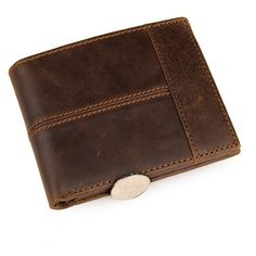 100% Top Quality Genuine Cow Leather Men Wallets Fashion Splice Purse Dollar Price Carteira Masculina Mens Purse Wallet ** To view further for this item, visit the image link.