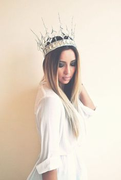 DIY Ice Queen Crown