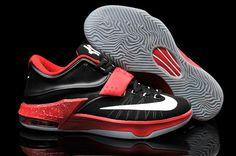 buy popular 22ac5 d940c Nike Zoom Kd 7 Shop Black Red Nike Shoes, Sneakers Nike, Asics Running Shoes