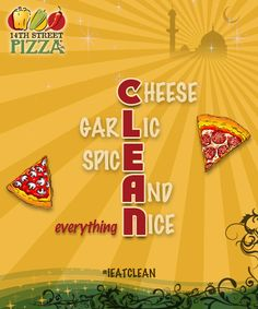 Everything nice #14thStreetPizza #IEatClean  Dial 111-36-36-36 or visit http://www.14thstreetpizza.com/