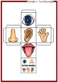 Five Senses Preschool, Emotions Preschool, Body Parts Preschool, Preschool Education, Preschool Learning Activities, Preschool Activities, English Worksheets For Kids, English Lessons For Kids, Free Printable Puzzles
