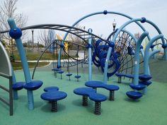 Holy crazy playground Batman!  31st Street Harbor Park