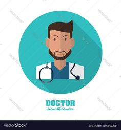 Doctor design medical and healthcare concept Vector Image by jemastock