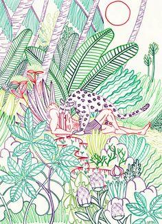 Jungle - CARI VANDER YACHT