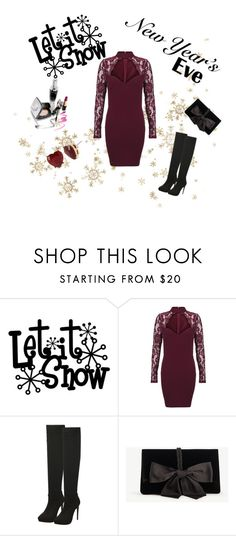 """New Years"" by amra-memic ❤ liked on Polyvore featuring Ann Taylor and Betsey Johnson"