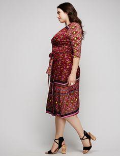 Shop Plus Size Dresses - Sizes 14-28   Lane Bryant   Riley Ticotin ...