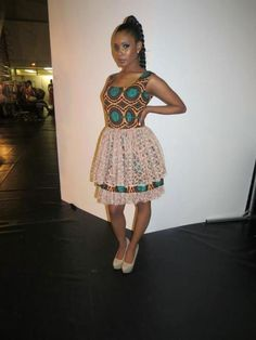 Its African inspired. African Dresses For Women, African Attire, African Wear, African Women, African Style, African Inspired Fashion, African Print Fashion, Africa Fashion, African Prints