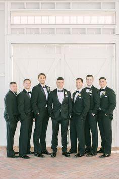 An all black tux affair: http://www.stylemepretty.com/2016/10/11/blogger-bride-jess-galfo-wedding-part-ii/ Photography: Love and Light - http://loveandlightphotographs.com/