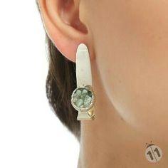 Handmade sterlingsilver earing