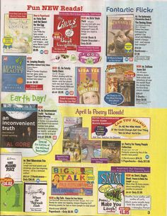 My favorite time in english class was when we got Scholastic book order forms!