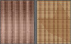 Just need to coordinate the palette better w/ the opacities and thats my pattern set.