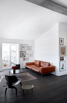 Black floors - via cocolapinedesign.com