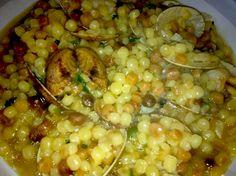 Un piatto che conserva il gusto delicato di mare delle arselle raccolto dalla fregula