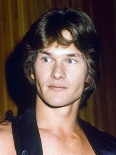 Patrick Swayze as a teenager