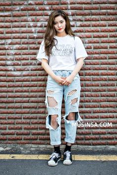 Korean Street Fashion - Total Street Style Looks And Fashion Outfit Ideas
