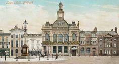 Retford Town Hall in 1905 Nottinghamshire