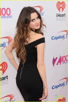 Laura Marano Joins Chloe Moretz At Z100's Jingle Ball in NYC: Photo #905019. Laura Marano makes a quick change for the main event as she arrives at Z100's Jingle Ball 2015 at Madison Square Garden on Friday night (December 11) in New York…