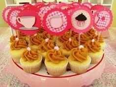 Chá De Bonecas   Cupcake Art